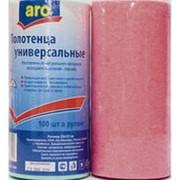 Полотенца ARO вискозные универсальные, 100шт (упаковка 2 шт) фото