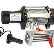 Лебедка электрическая индустриальная СТОКРАТ HD 15.5 WP, 12V, 6.8 л.с. фото