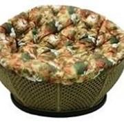 Кресло для беседки с плетением макраме фото