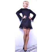 Платье аля Лера Кудрявцева черное фото