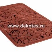 Коврик ванной комнаты Kolser Pamuklu 1-60/100 Rose коричневый (1/20) фото