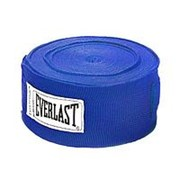 Бинт боксерский Everlast 4466BL 3.5 м синий фото
