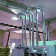 Расчет, поставка и монтаж пневмотранспортного оборудования для выгрузки и подачи сыпучих материалов фото