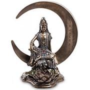 "Скульптура ""Гуаньинь - богиня милосердия"" 34,5х38,5х22см. арт.WS-598 Veronese фото"