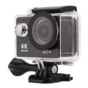 Экшн камера EKEN H9R Ultra HD 4K WiFi + пульт цвет чёрный фото