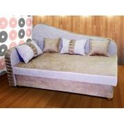 Кровать Odihna 3 с подушками фото
