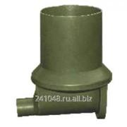 Основание колодца модульного o315мм (лоток проходной), арт. 505 фото