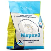 Наполнитель для туалетов домашних животных Маркиз цеолитовый фото