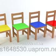 Cтул детский деревянный ростовой группы 2, 23164 фото