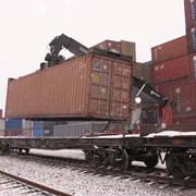 : Сдача груза приемосдатчику железной дороги фото