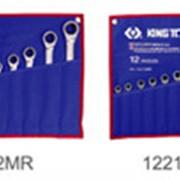 Набор ключей рожково-накидных с трещеткой фото