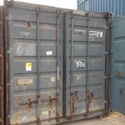 Контейнер морской под склад №05227 фото