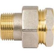 Соединение под ключ прямое (американка) никель 1/2 фото