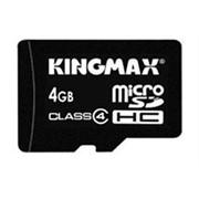 Карта памяти microSDHC 4 Гб - Kingmax фото