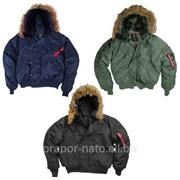 Куртка зимняя короткая Аляска Alpha Industries N-2B Parka фото