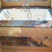 Бассейны, ванные отделка мрамором фото