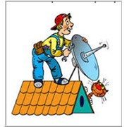 Установка спутниковых антенн, ремонт спутниковых антен фото