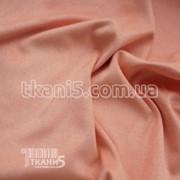 Ткань Стрейч замш плотный ( персиковый ) 5233 фото