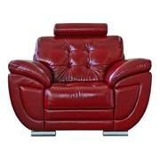 Кресло кожаное Редфорд (12) фото