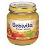Пюре Bebivita Персик и яблоко, с 5 мес 100 гр фото