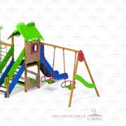 Детский игровой комплекс Джунгли фото