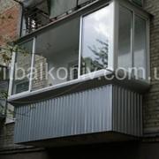 Балкон під ключ фото