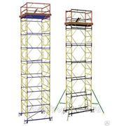 Вышка тура ВСП 2х1,6, размер 2,0х1,6 м, высота - 11,1м фото