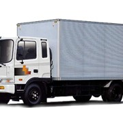 Hyundai HD 120 с грузоподъёмностью 7,5 тонн для междугородних перевозок грузов на любые расстояния фото
