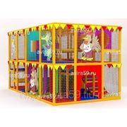 Детский игровой лабиринт. Ферма фото