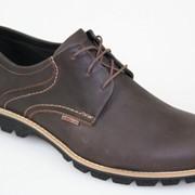 Туфли мужские кожаные. Артикул товара: 33384-57. Обувь кожаная мужская. Размер 40-45. фото
