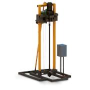 Буровая элетрическая малогабаритная установка 2,2 кВт фото