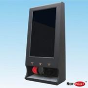 Автомат для чистки обуви с LCD дисплеем фото