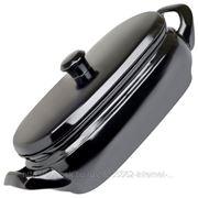 Ceraflame TERRINE Ёмкость для запекания с крышкой керамическая, цвет - оникс 4.5 л A460310541 фото