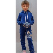 Костюм спортивный Смурфики синий фото