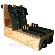 Деревянный ложемент на 2 пистолета Ярыгина фото