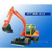 Колесный Экскаватор HENGTE HTL120A 4x2 фото