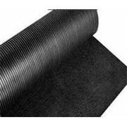 Резиновая дорожка рифленая т. 5мм фото