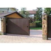 Откатные ворота DOORHAN 4550х2200 фото