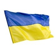 Прапорець України з автофлагштоком фото