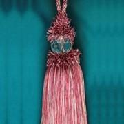 Помпон для шторы красный меланж 30200 - 52U K 27 фото