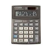 Калькулятор настольный CITIZEN Correct SD-212,12-ти разрядный. фото