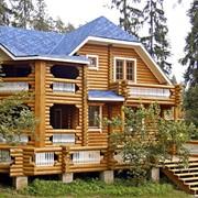 Дома из оцилиндрованного бревна, коттеджи и постройки другого назначения фото