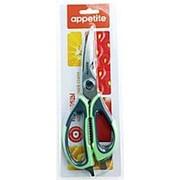 Ножницы 230мм бытовые APPETITE обрезиненая ручка SC323 фото