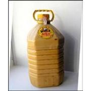 Цветочный мед Бутылка пластиковая 5л фото