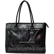 Портфель для ноутбука женский 14,1 кожзам DERBY крокодил 0670111,00 фото