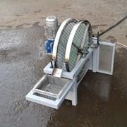 Механический сетчатый фильтр дисковый для воды фото