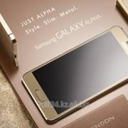 Телефон Samsung Galaxy Alpha SM-G850FKZ 32Gb (КСТ), цвет золотой фото