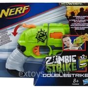 A6562 Бластер Hasbro Nerf Зомби Страйк Двойной Удар фото