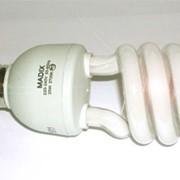 Лампа энергосберегающая MADIX спираль E27 20Вт желтый спектр фото