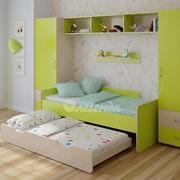 Детская комната Легенда 16 венге светлый/лайм фото